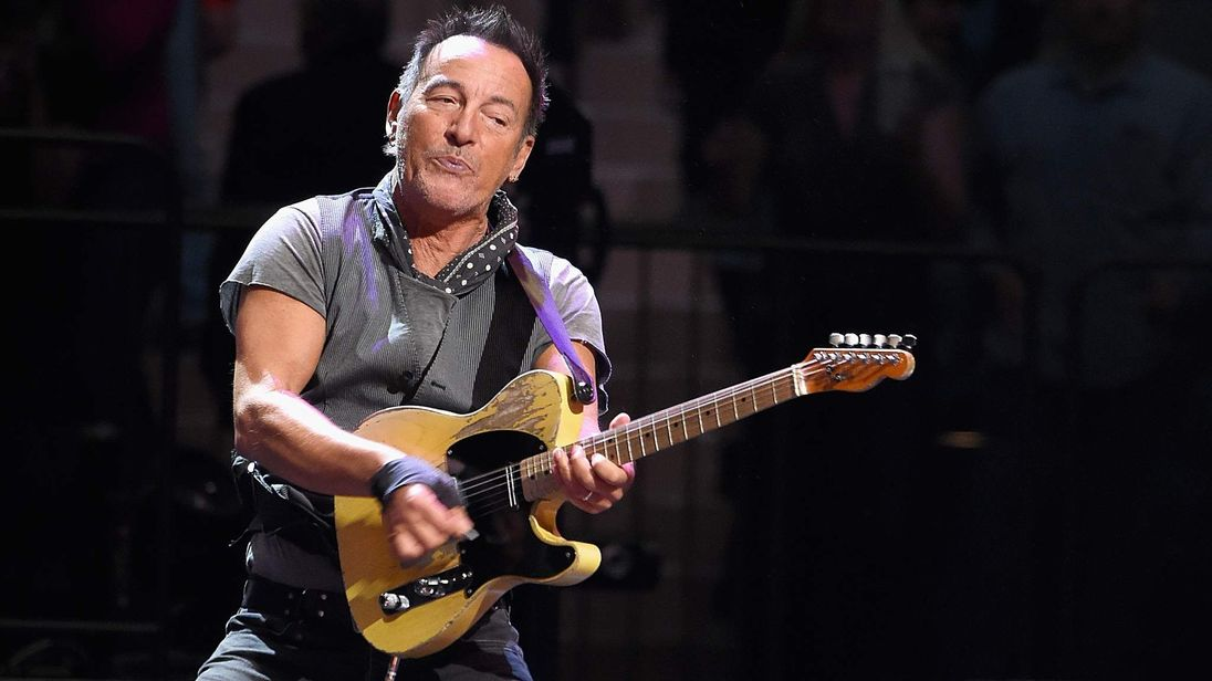 Bruce Springsteen reveals battle with 'crushing' clinical depression