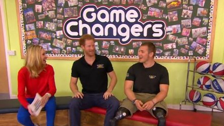 Prince Harry received an awkward question from one of the young members of the audience