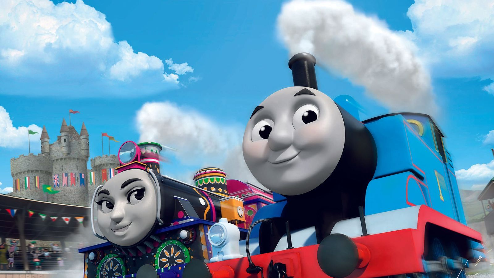 Thomas The Tank Engine Goes Multicultural In New Animated Film
