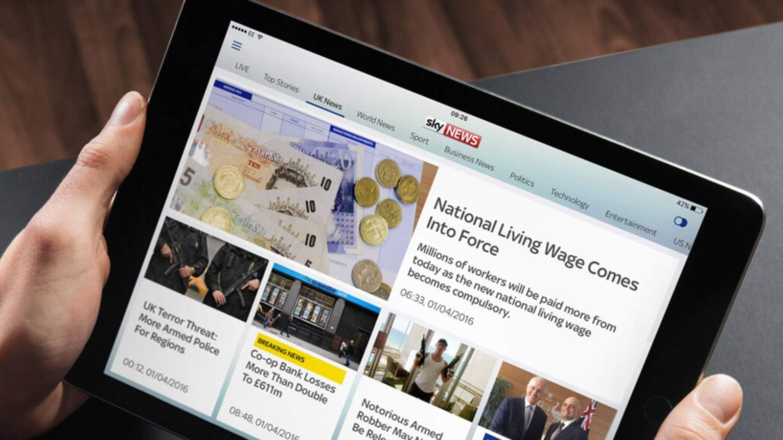follow the latest breaking news wherever you are on iphone ipad