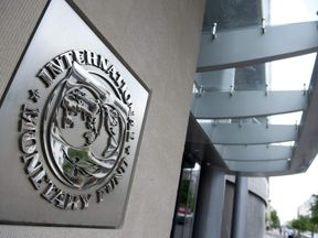 The IMF headquarters in Washington DC