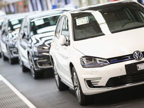 Lower Saxony Governor Weil Visits Volkswagen Factory