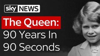 90 Years in 90 Seconds the queen