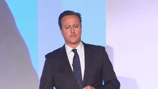 David Cameron at the Conservative spring conference