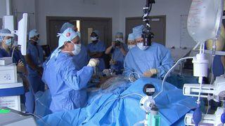 Virtual reality operation at the Royal London Hospital 2