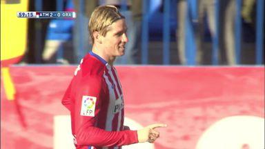 Atletico joint top of La Liga
