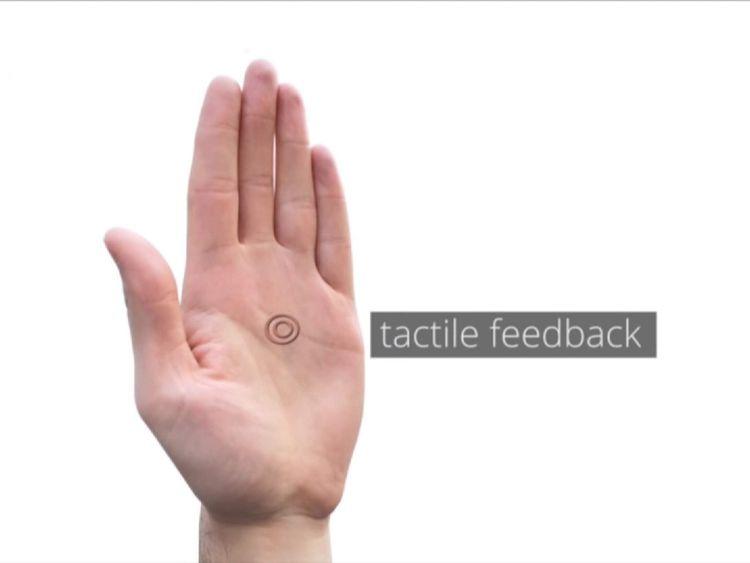 Touchscreen Palm