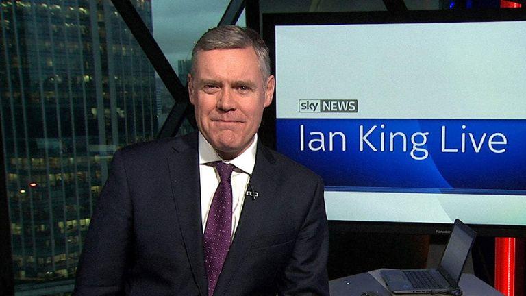 On Monday Night's Ian King Live
