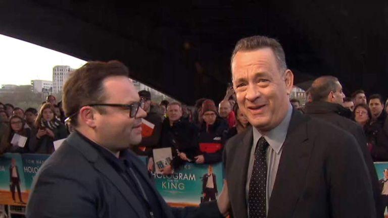 Hollywood Superstar Tom Hanks Predicts Dinosaur Alien Invasion On Day Of Trumps Inauguration