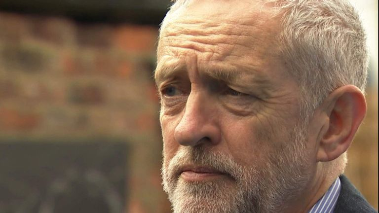 Labour Leader Jeremy Corbyn On Ken Livingstone Being Suspended