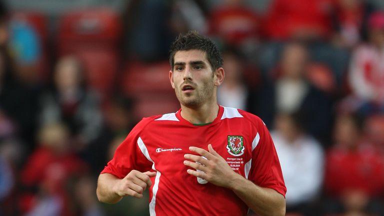 Ched Evans, Wales U21 v Hungary U21, August 2009