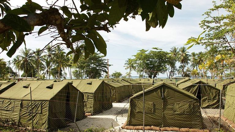 Manus Island Detention Centre facilities