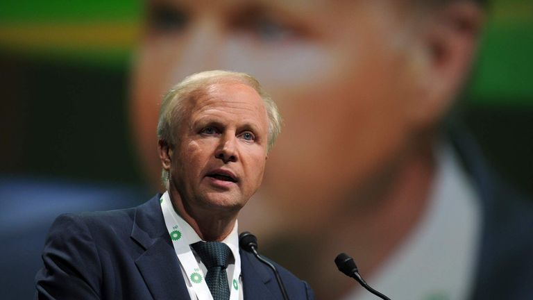British energy giant BP CEO Bob Dudley