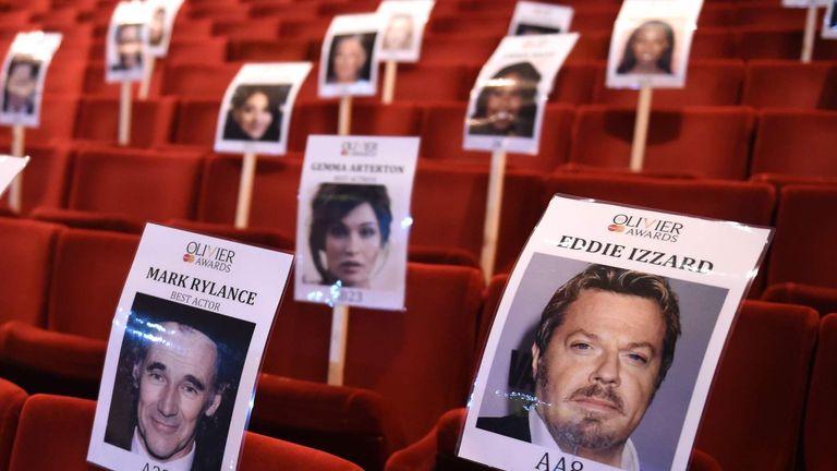 Olivier Awards Preparations