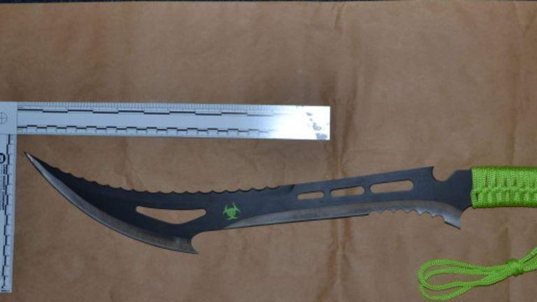 A Zombie Killer knife