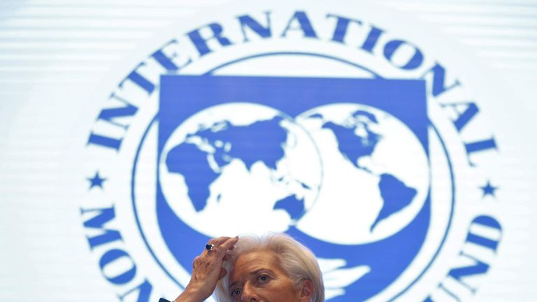 The International Monetary Fund's Christine Lagarde warned before the referendum that Britain's economy would suffer in the event of Brexit