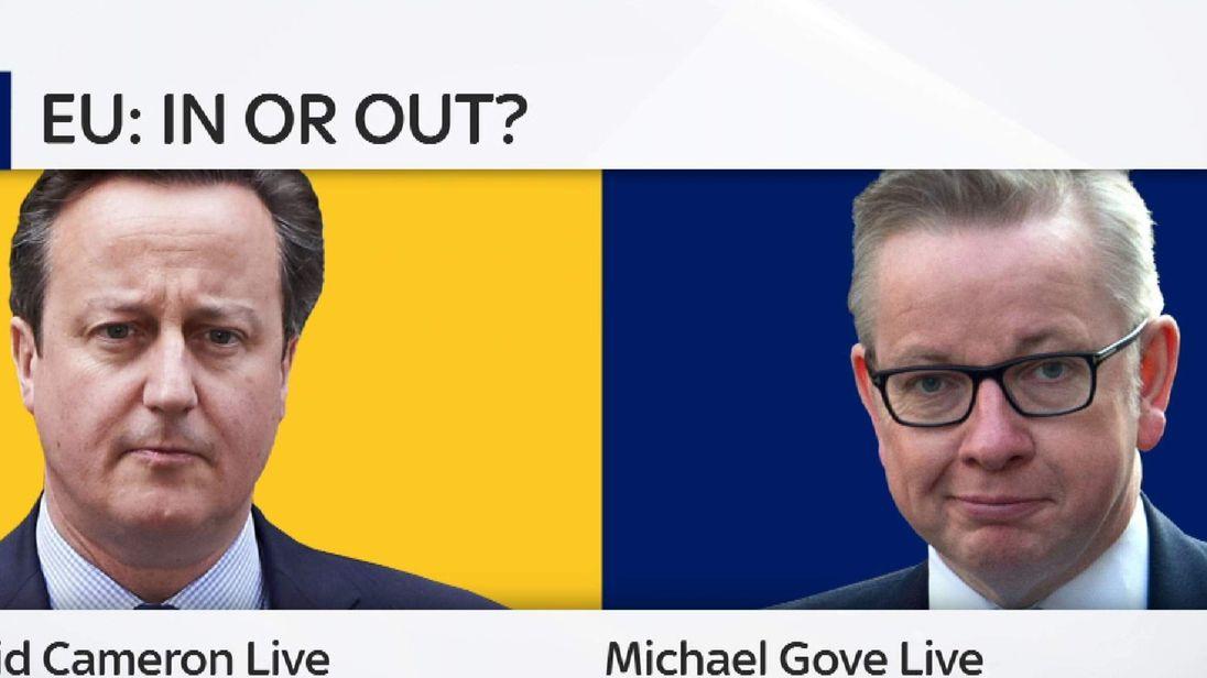 Promo Slate For Sky News EU Programmes