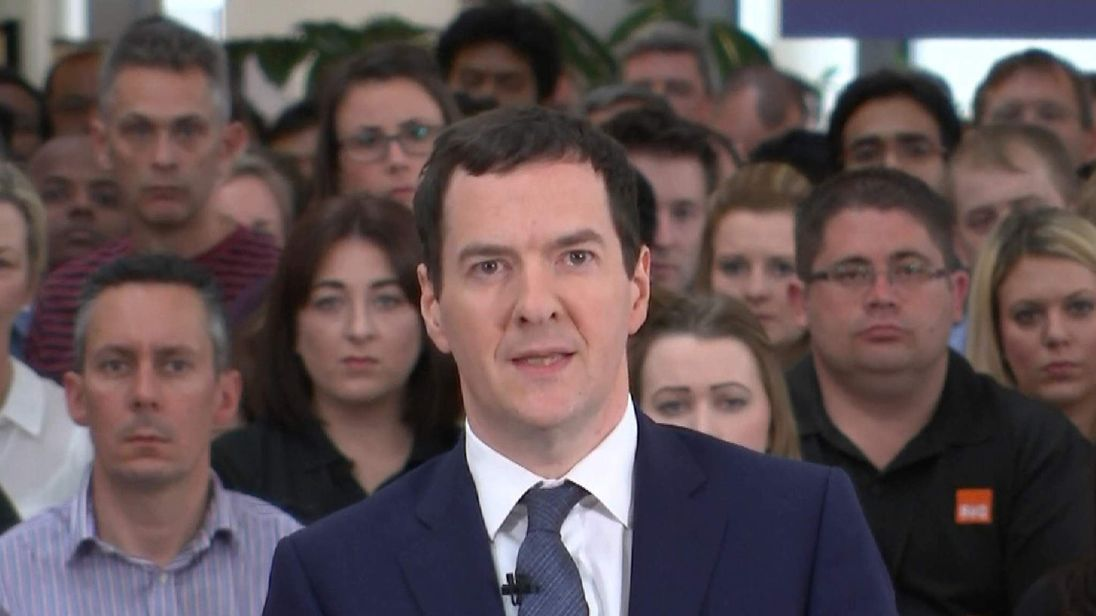 George Osborne says there will be major job losses if the UK leaves the EU