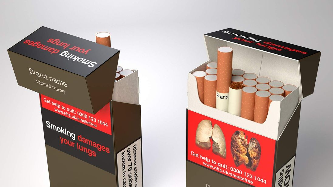 Standardised cigarette packaging backed by MPs