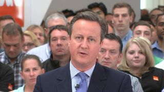 """David Cameron says the threat to the economy means a vote to stay is the """"moral"""" choice"""