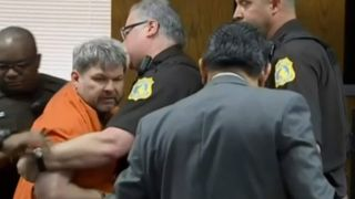 Jason Dalton dragged from court