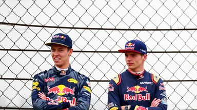 Verstappen replaces Kvyat at Red Bull