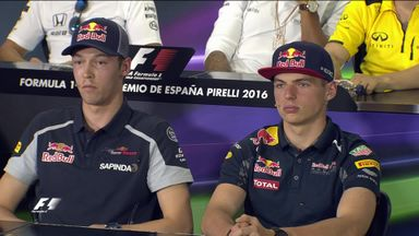 Kvyat - I keep my podium