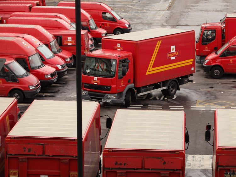 Royal Mail fined record €50m for 'serious breach' of law