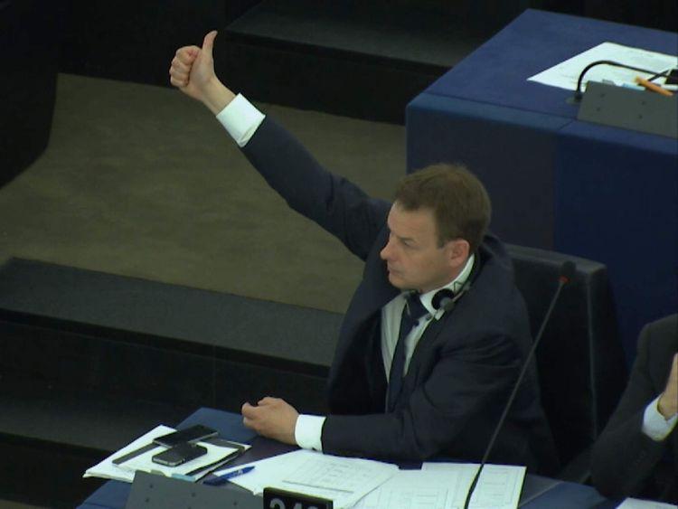 MEP Dan Dalton