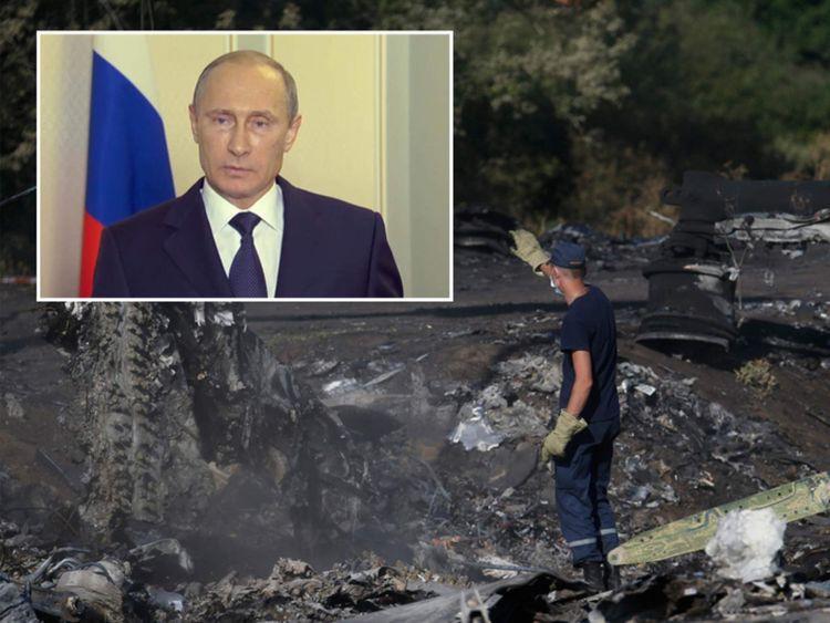 Putin composite MH17