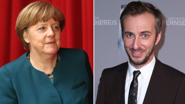 Merkel Visits French Lycee To Discuss EU Issues