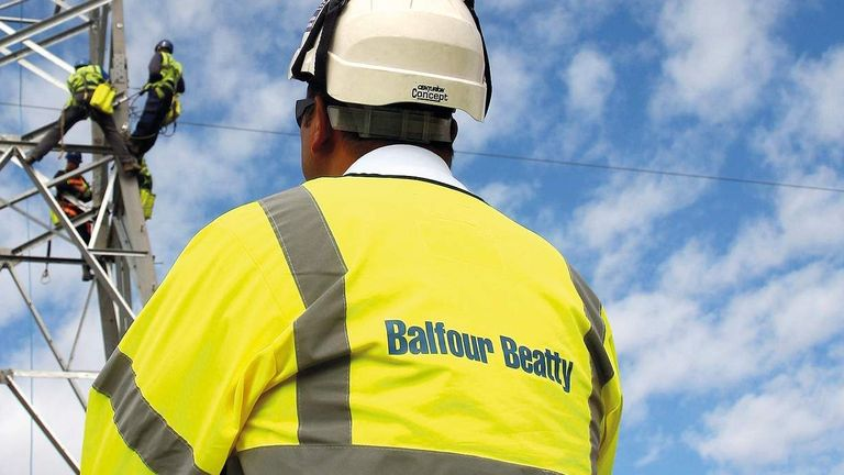 """Balfour Beatty was one of the firms that admitted """"unlawful"""" activities"""