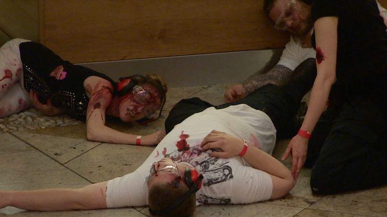 Manchester terror training exercise