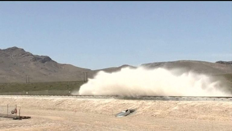 High Speed Transportation Being Tested In Nevada