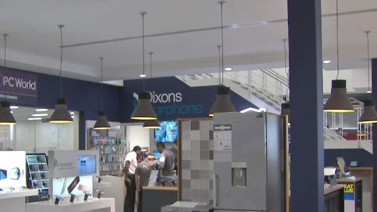 Dixons Carphone Store