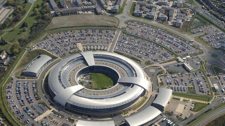 The doughnut shaped GCHQ