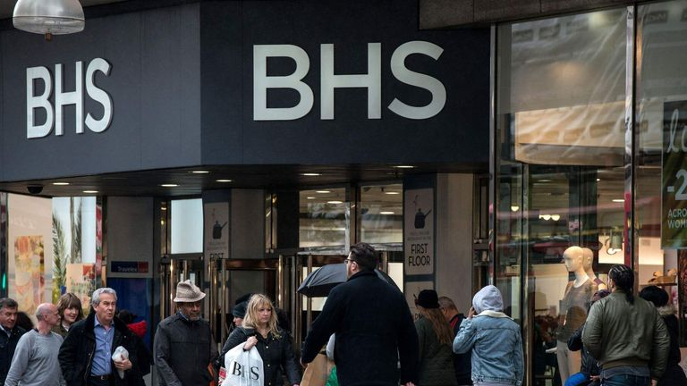 BHS on Oxford Street, London