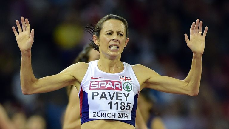 Great Britain's Jo Pavey