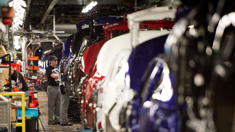 Nissan Production Line Sunderland