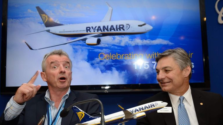 Michael O'Leary, Ryanair