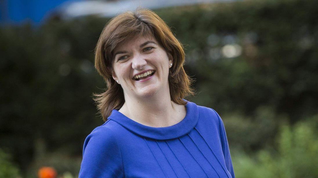 Nicky Morgan, MP for Loughborough and new Education Secretary