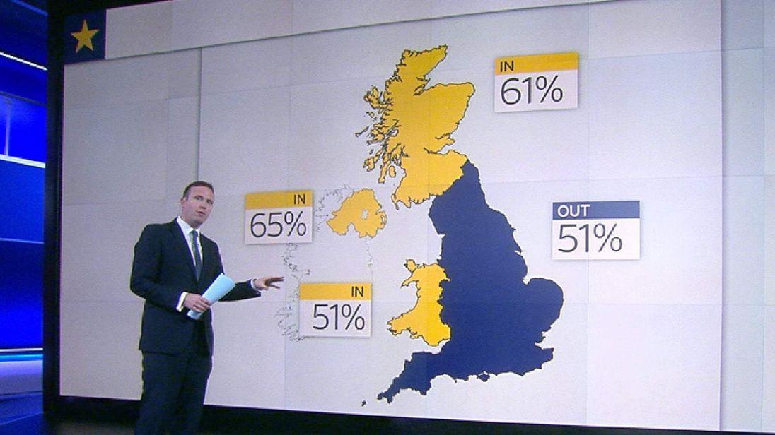 Sky's Ed Conway explains the latest EU referendum polls