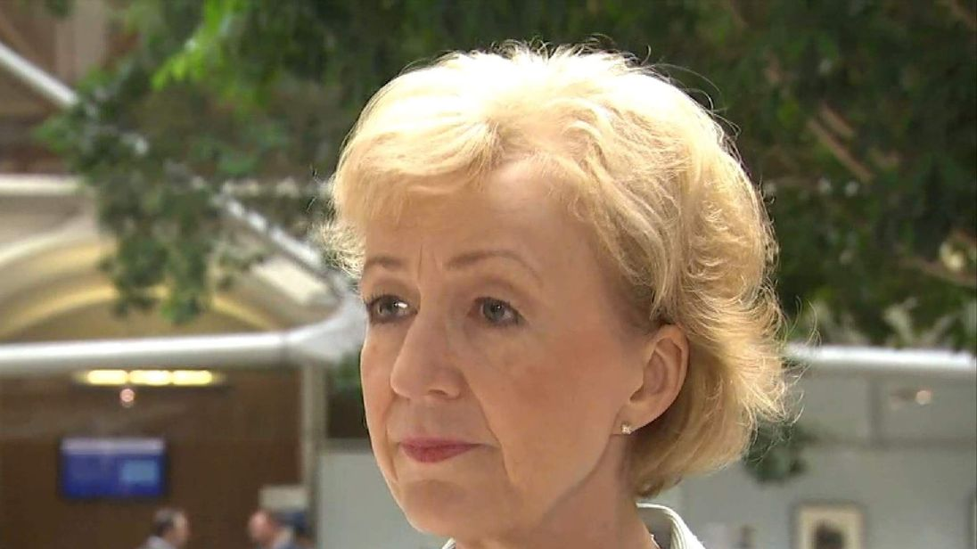 Tory Leadership Candidate Andrea Leadsom Explains Her Reasons For Standing