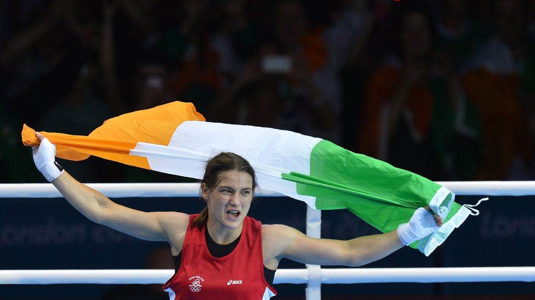 Katie Taylor: Man dies after shooting at gym of boxer's father