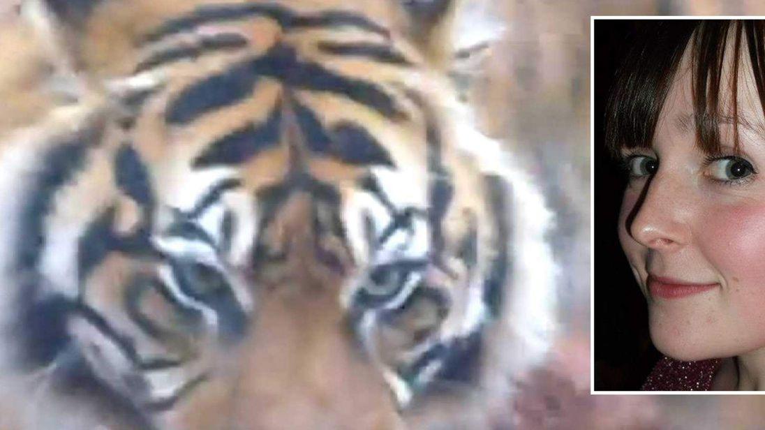 Sarah McCaly was killed by a Sumatran tiger