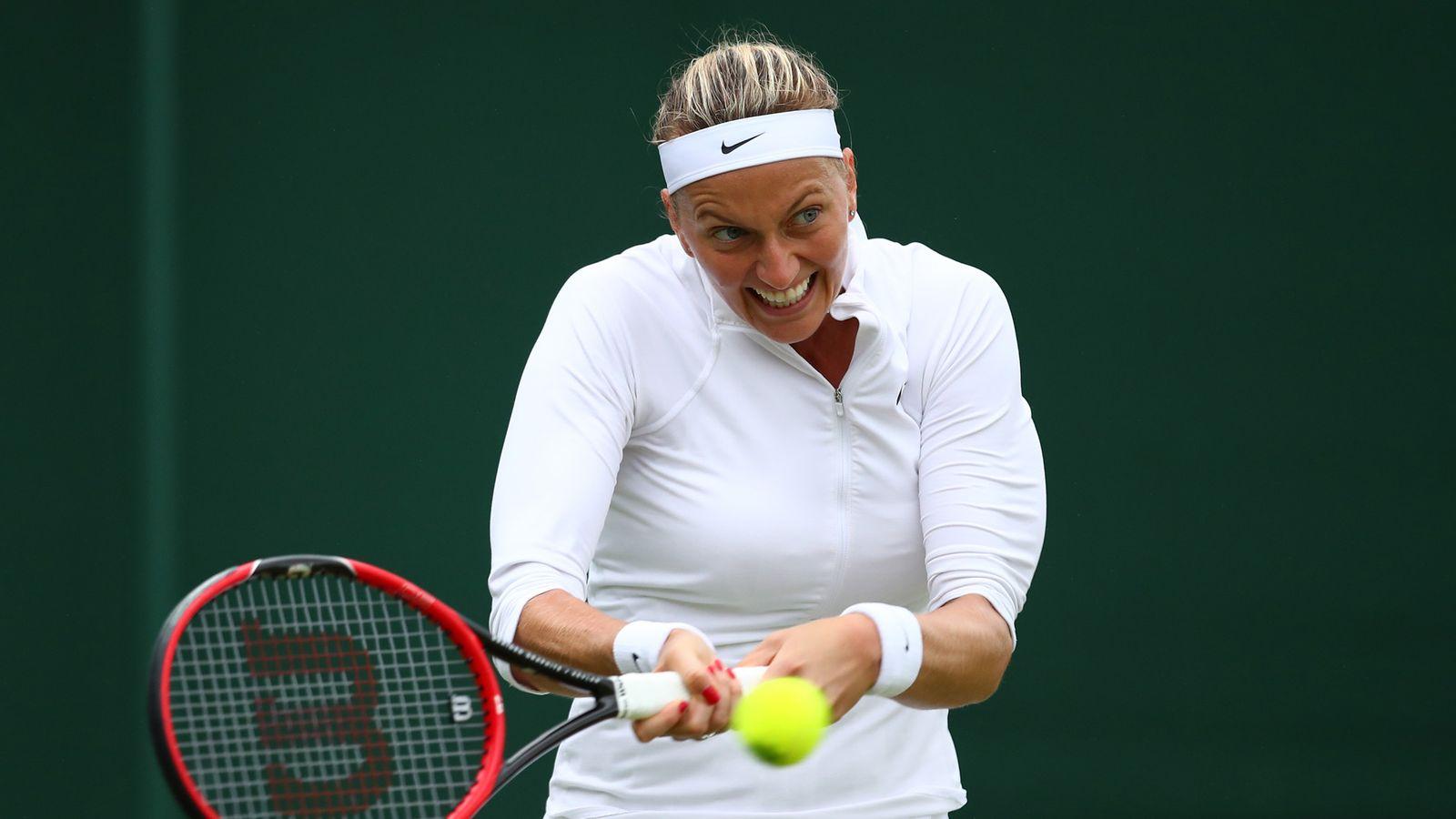 Wimbledon champion Petra Kvitova's career in jeopardy ...
