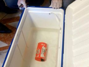 A flight recorder retrieved from the crashed EgyptAir flight MS804 is seen in this undated picture issued June 17, 2016