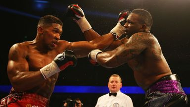 Whyte wants Joshua rematch