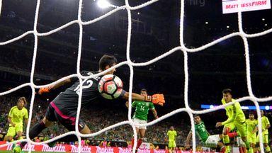 Jesus Manuel Corona scores a brilliant individual goal for Mexico in Copa America against Venezuela