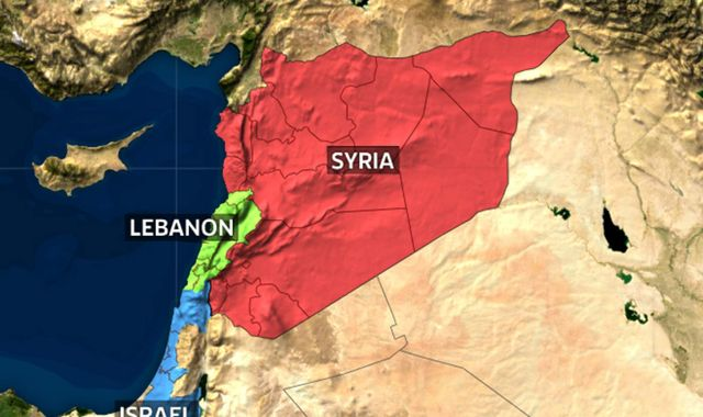 Israel carries out strikes on Iranian targets in Syria